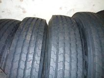 Tire on the warehouse stock images
