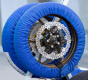 Tire warmer Royalty Free Stock Images
