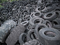 Tire Waste Royalty Free Stock Photos