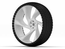 Tire and wheel Royalty Free Stock Image