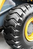 Tire wheel of the tractor or other construction equipment Stock Photos