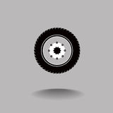 Tire and wheel Royalty Free Stock Photos
