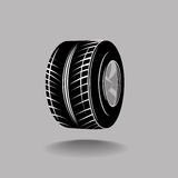 Tire and wheel Stock Photography