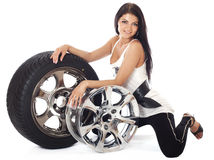 Tire. Stock Photo