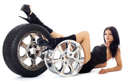 Tire. Stock Image