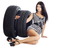 Tire. Stock Photos
