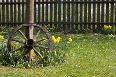Tire2 en bois Photo libre de droits