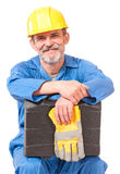 Tired worker Royalty Free Stock Photo