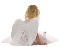 Tired angel Royalty Free Stock Photo