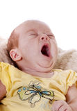 Tired baby Royalty Free Stock Photo