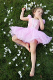 Tired Ballerina Royalty Free Stock Images