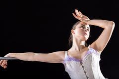Tired ballerina Stock Photography