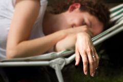 Tired bride Royalty Free Stock Photography