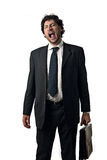 Tired business man Royalty Free Stock Photos