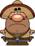 Tired Cartoon Bandito Royalty Free Stock Images