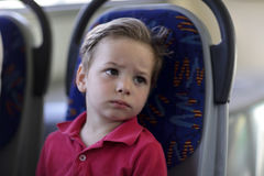 Tired child Stock Image