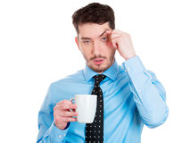 Tired Royalty Free Stock Photos