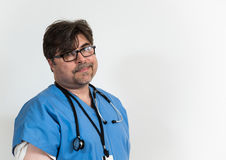 Tired Doctor Royalty Free Stock Photo
