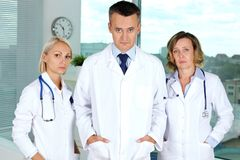 Tired doctors Royalty Free Stock Images