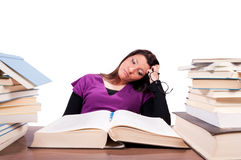 Student problems Stock Photo