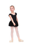 Tired little ballerina Stock Photography