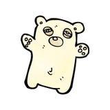 tired little polar bear Stock Photography