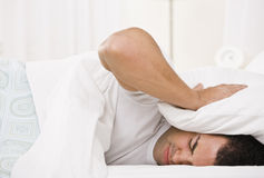 Tired Man Royalty Free Stock Images