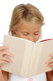 Tired Reader Royalty Free Stock Photos