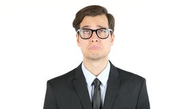 Tired and sad businessman, fired. High quality stock photo