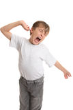 Tired, Stretch, Yawning Royalty Free Stock Photography