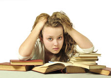 Free Tired Student Stock Photos - 13405063