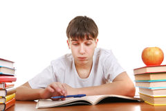 Tired Student Royalty Free Stock Images