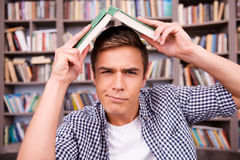 Tired of studying. Royalty Free Stock Images