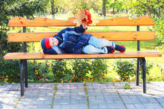 Tired to wait Royalty Free Stock Photos