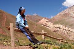 Tired Trekker Stock Image