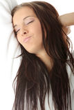 Tired woman Royalty Free Stock Photo