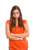 Tired woman Stock Image