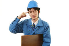 Tired Worker Stock Photos