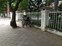 Nha Trang, Vietnam, Day sleeper royalty free stock photography