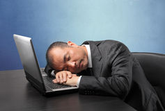 Tiredness Royalty Free Stock Photo