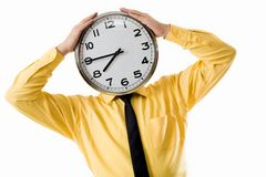Tiredness royalty free stock images