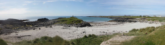 Tiree Beach near Scarinish Royalty Free Stock Photo