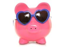 Tirelire d'économie d'amour Image stock