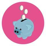 Tirelire de porc illustration libre de droits