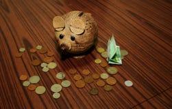 Tirelire ? Mousy Bank ! Photo stock