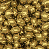 Tirelires d'or Image libre de droits