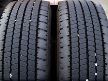 Tires. Truck tires royalty free stock photography