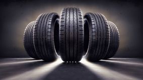 Free Tires Royalty Free Stock Images - 165669319