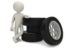 Tires_2 Stockbild