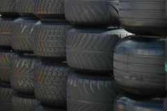Tires. Wheels Royalty Free Stock Images